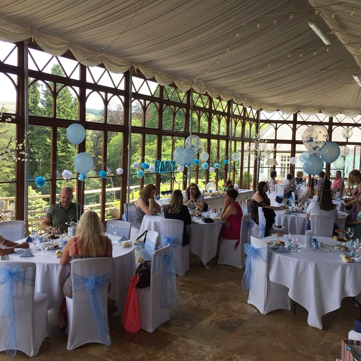 Baby Showers At Craig Y Nos Castle S Conservatory On Sundays