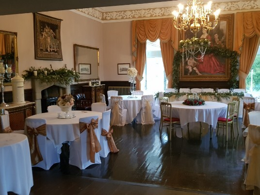 Craig y Nos Castle Function Room on Open Day October2018