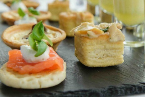 Canapes Choices South Wales Wedding Venue Craig y Nos Castle
