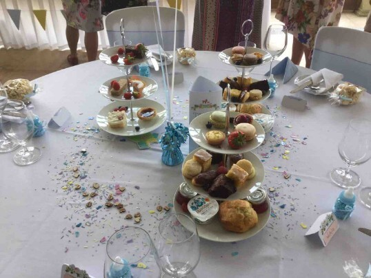 Baby Shower in Craig y Nos Castle's South Wales Wedding Venue