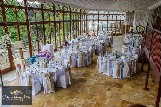 Craig y Nos Castle South Wales Wedding Venue Conservatory