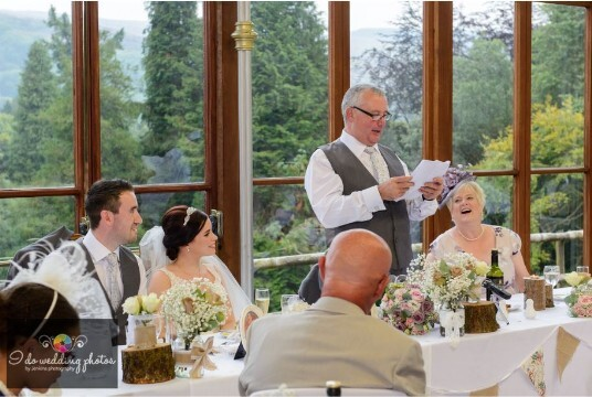 South Wales Castle Wedding Venue Conservatory Craig y Nos