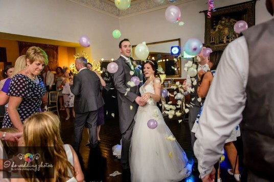 South Wales Wedding Venue Evening Party Room Craig y Nos Castle
