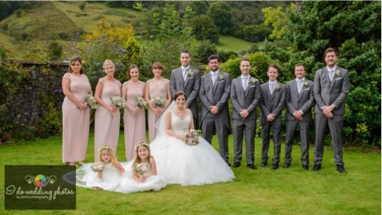 South Wales Wedding Venues theatre gardens Craig y Nos Castle
