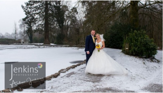 Castle Wedding Venue Wales Craig y Nos County Park