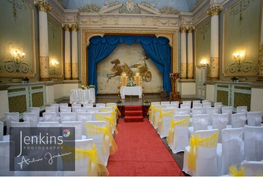 Wedding Venue Castle in Wales Ceremony Room