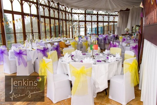 Castle Wedding Venue Wales Wedding Reception Room
