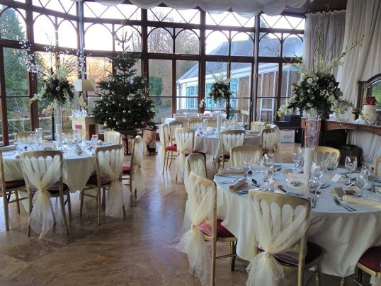 Last Minute Weddings Venue South Wales Craig y Nos Castle Conservatory