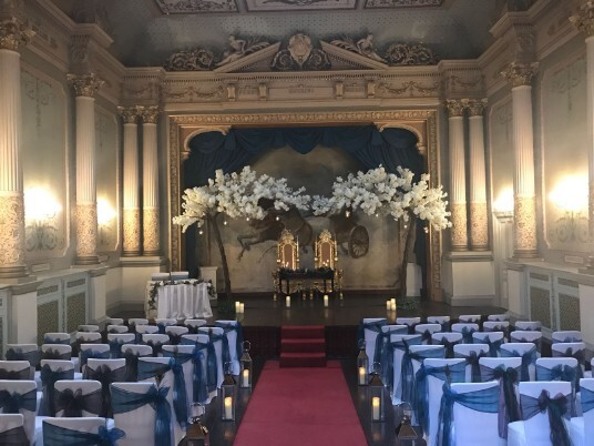 Wedding Ceremony Room for a Wedding in April 2018