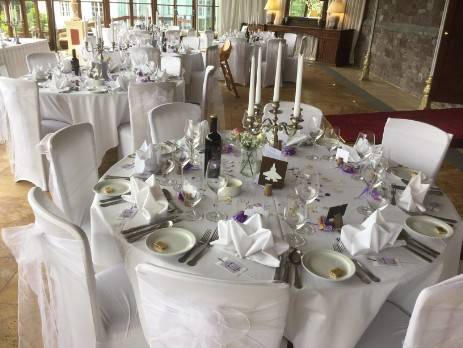 Wedding In Conservatory South Wales Wedding Venue Craig y Nos Castle