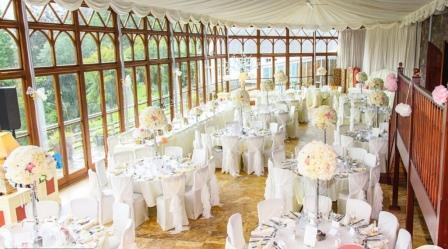 Wedding Venues in South Wales - the Conservatory at Craig y Nos Castle