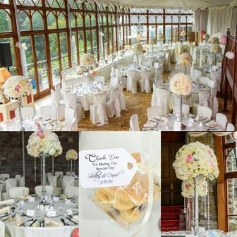 Conservatory Collage South Wales Wedding Venue Craig y Nos Castle