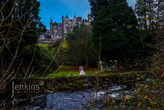 Swansea Wedding Reception Venue Craig y Nos Castle Lower Gardens