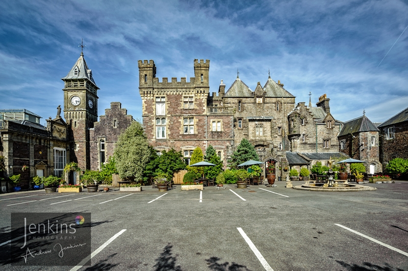 Craig y Nos Castle Frontage Wedding Receptions Venue South Wales