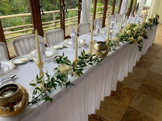 Wedding Venues in Swansea Wales Conservatory at Craig y Nos Castle