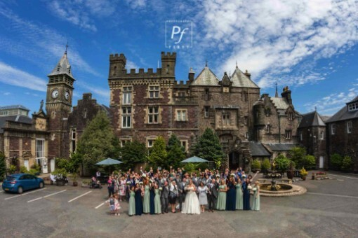 Castle Weddings South Wales Craig y Nos