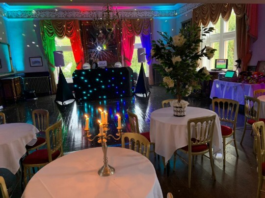 Craig y Nos Castle Wedding Venue Swansea Music Room