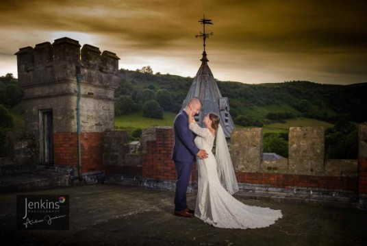 Wedding Venue South Wales Craig y Nos Castle Weekday Wedding Package