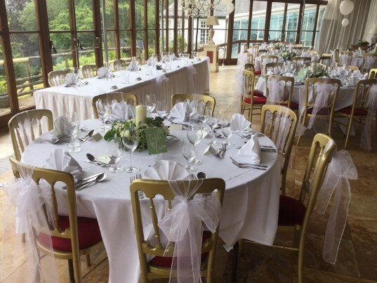 South Wales Wedding Venue Craig y Nos Castle Conservatory