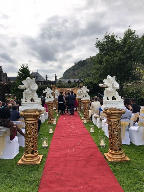 Indian Wedding at Craig y Nos Castle in 2018