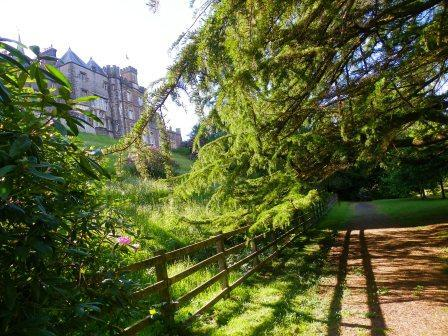 Lower Gardens at Weddings Venue South Wales Craig y Nos Castle