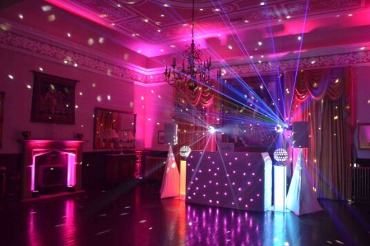 Wedding Venue South Wales Craig y Nos Castle Evening Disco