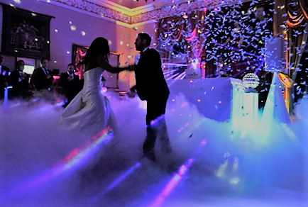 Pure Weddings DJ First Dance Wedding Venue South Wales Craig y Nos Castle
