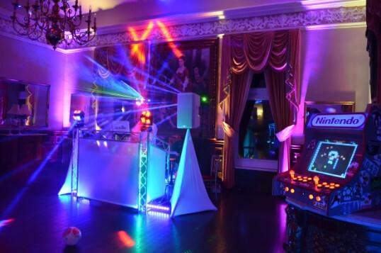 Wedding dj weddings in wales at craig y nos castle pure weddings dj dj supplier junglespirit Image collections