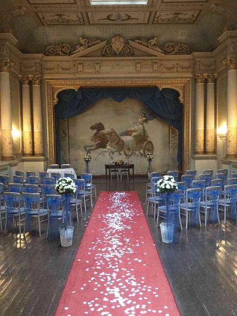 Wedding Ceremony Room South Wales Wedding Venue Craig y Nos Castle