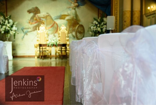Wedding Ceremony Room, the Opera House at Craig y Nos Castle