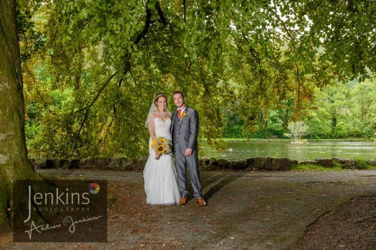 Craig y Nos Castle South Wales Wedding Venue Country Park Bridge