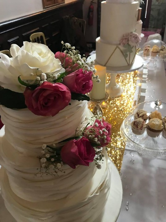 Craig y Nos Castle Wedding Cakes on Open Day January 2019