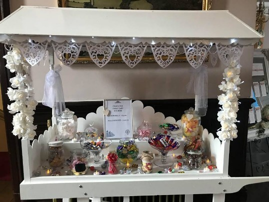 Craig y Nos Castle's own Candy Cart on Open Day January 2019