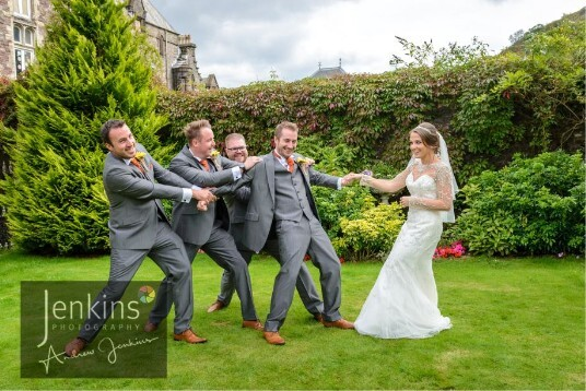 South Wales Wedding Theatre Gardens  Craig y Nos Castle