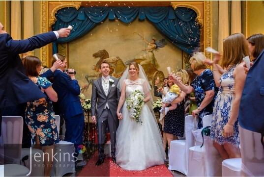 Wedding Venues South Wales Craig y Nos Castle Ceremony Room