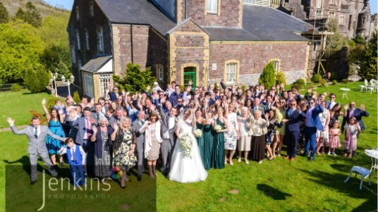 Wedding Venues South Wales Craig y Nos Castle theatre gardens
