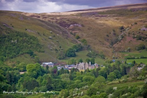 Craig y Nos Castle in the Upper Swansea Valley