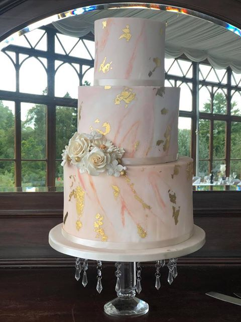 South Wales Castle Wedding Venue Wedding Cake Craig y Nos
