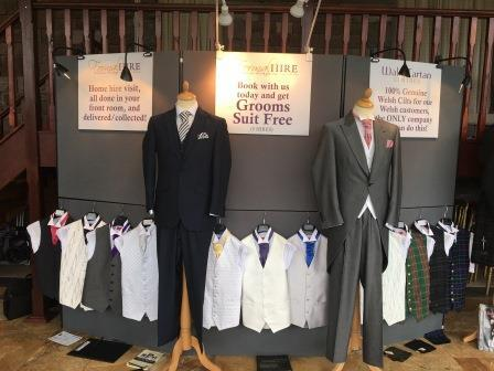 Wedding Fair Jan 2016 Craig y Nos Castle - menswear