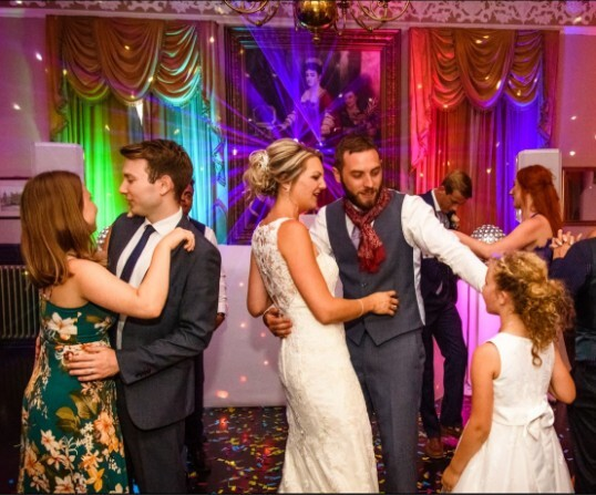 Last Minute Wedding Venues Swansea Craig y Nos Castle Evening Disco