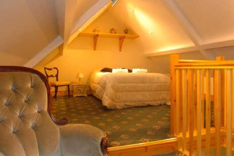 AB31 loft room at Craig y Nos Castle wedding venue Llanelli