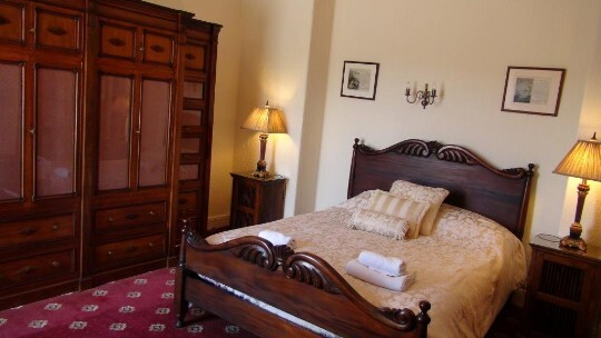 Craig y Nos Castle Room AB35 bed