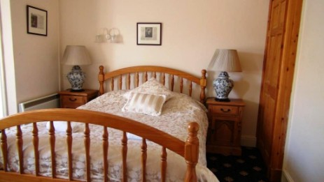Craig y Nos Castle Wedding Venue in Wales double bed room 36