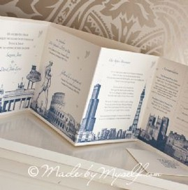 Made By Myself Specialised and Personalised Wedding Stationery