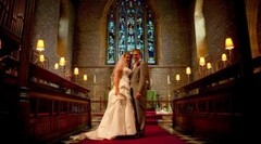 Chris Barroccu Wedding Photographer Wedding Couple in Church