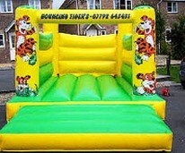 Bouncing Tigers of Neath Bouncy Castles for Weddings