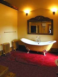 Wedding Venues South Wales - Craig y Nos Castle Accommodation Room Bridal room slipper bath