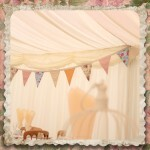 Country Bumpkin Bunting Decoration for Wedding Receptions
