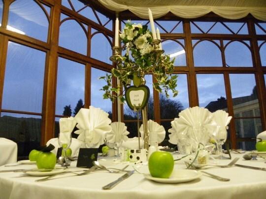Conservatory Wedding Breakfast Room 19 Weddings In Wales At Craig