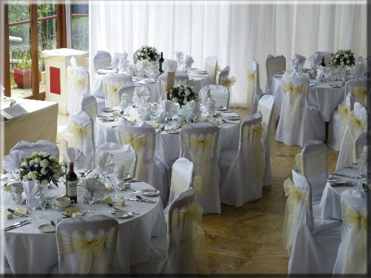 Wedding Receptions in Wales - the Conservatory at Craig y Nos Castle